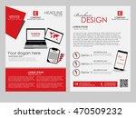brochure design template.... | Shutterstock .eps vector #470509232