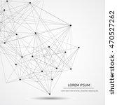 design technology network ... | Shutterstock .eps vector #470527262