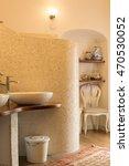 Elegant Tiled Bathroom In...