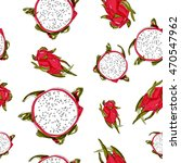 vector seamless pattern with... | Shutterstock .eps vector #470547962