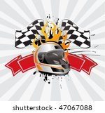racing sign | Shutterstock .eps vector #47067088