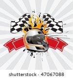 racing sign | Shutterstock .eps vector #47067088