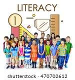 academic knowledge literacy... | Shutterstock . vector #470702612