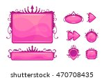beautiful pink game user...