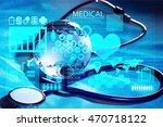 healthcare and medicine. | Shutterstock . vector #470718122
