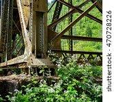 An Old Bridge In Westfir ...