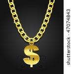 hip hop and rap symbol of rich...