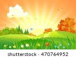 vector cartoon illustration of... | Shutterstock .eps vector #470764952