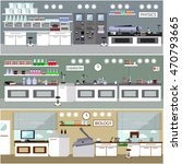 laboratory illustration.... | Shutterstock . vector #470793665