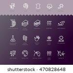 fabric technology  properties... | Shutterstock .eps vector #470828648
