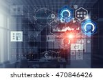 connection technologies for... | Shutterstock . vector #470846426