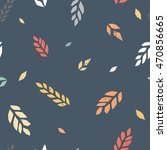 vector seamless pattern... | Shutterstock .eps vector #470856665