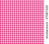 pattern picnic fuxsia | Shutterstock .eps vector #47087320