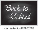 vector illustration of words... | Shutterstock .eps vector #470887532