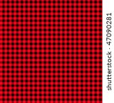 Pattern Punk Black Red