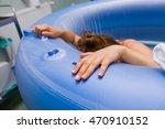young beautiful woman during... | Shutterstock . vector #470910152