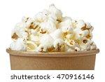 Close Up Of Popcorn In A Bucke...