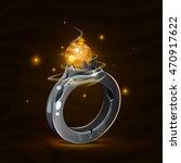 Cartoon Fantasy Magic Stone...