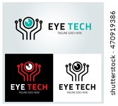 Eye Tech Logo Design Element ...