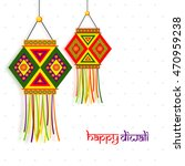 beautiful indian festival... | Shutterstock .eps vector #470959238