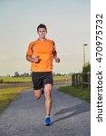running man   Shutterstock . vector #470975732