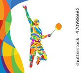 summer games abstract colorful... | Shutterstock .eps vector #470988662