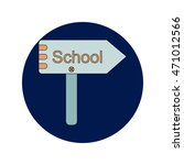 back to school and education... | Shutterstock .eps vector #471012566