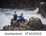 cape perpetua  usa   february... | Shutterstock . vector #471015422