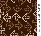 seamless pattern with arrows  ... | Shutterstock .eps vector #471044132