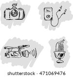 icons in the form of sketches ...   Shutterstock .eps vector #471069476