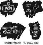 set of icons in the style of...   Shutterstock .eps vector #471069482