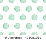 Seamless Pattern With Turquois...