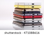 pile of mobile phone. heap of... | Shutterstock . vector #471088616