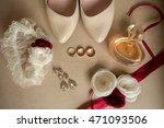 wedding details. bride... | Shutterstock . vector #471093506