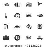 car service maintenance icons... | Shutterstock .eps vector #471136226