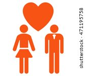 love persons icon. vector style ... | Shutterstock .eps vector #471195758