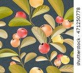 berries pattern. big crop....