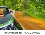motion blur shot of a cabriolet ... | Shutterstock . vector #471269402