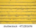 Flavin. Wooden Texture. Yellow...
