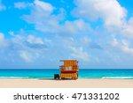Miami Beach Baywatch Tower In...