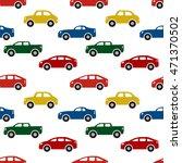cars seamless pattern. vector... | Shutterstock .eps vector #471370502