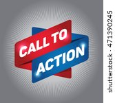 call to action arrow tag sign. | Shutterstock .eps vector #471390245