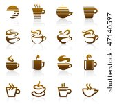 coffee. elements for design. | Shutterstock .eps vector #47140597