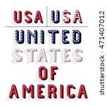 united states of america frame...   Shutterstock .eps vector #471407012