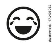 lol smiley vector icon....   Shutterstock .eps vector #471409082