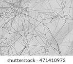 abstract background lines. 3d... | Shutterstock . vector #471410972