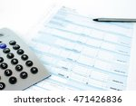 form filling  taxes in italy ... | Shutterstock . vector #471426836