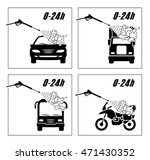 collection of very useful icons ... | Shutterstock .eps vector #471430352