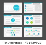 set of color infographic... | Shutterstock .eps vector #471439922