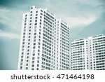 condominium high buildings | Shutterstock . vector #471464198